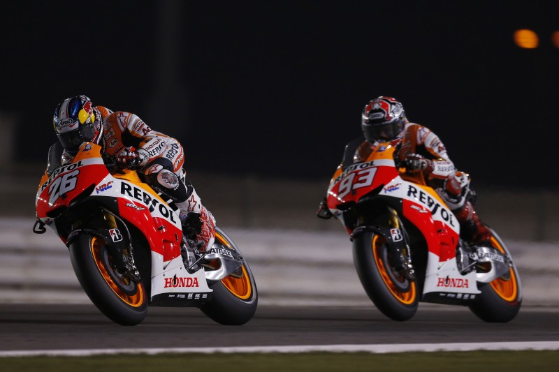 Marquez achieves incredible podium in first MotoGP race