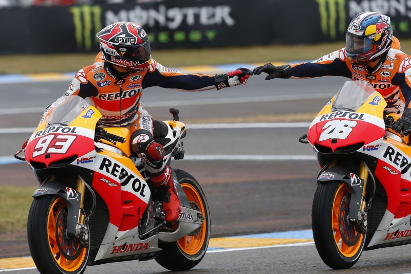 Sublime win for Pedrosa and incredible comeback for Marquez to 3rd