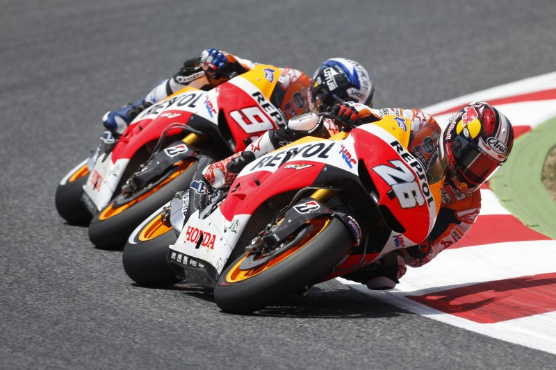 Repsol Honda duo take fourth double podium of 2013