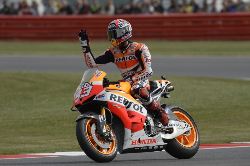 Repsol Honda celebrate seventh double podium in Silverstone