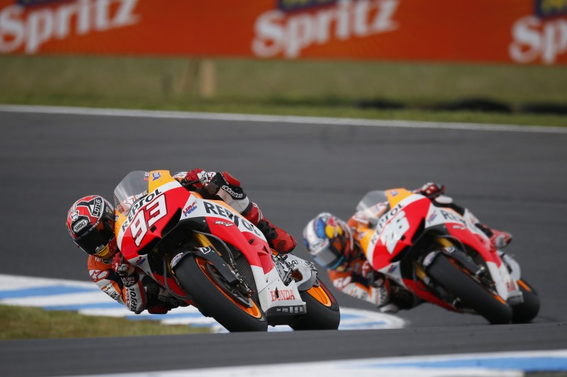 Second place for Pedrosa as black flag terminates race for Marquez