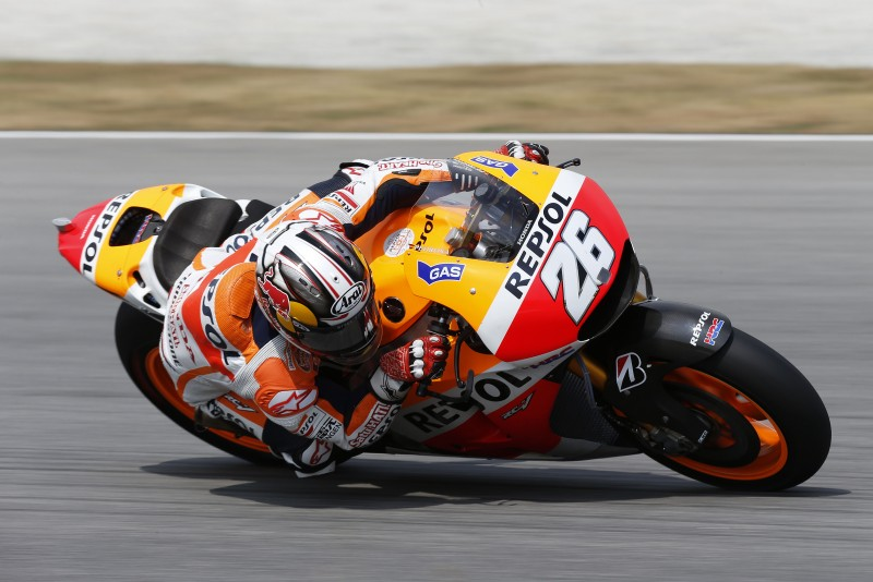 Pedrosa fastest on day two