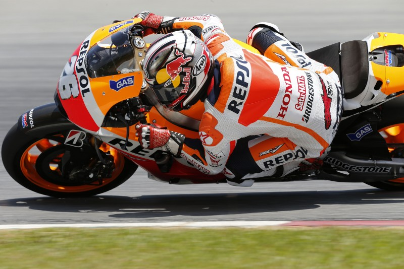Pedrosa shares joint fastest time on final day in Sepang