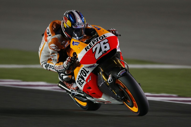 Marquez takes Qatar pole with Pedrosa in 6th