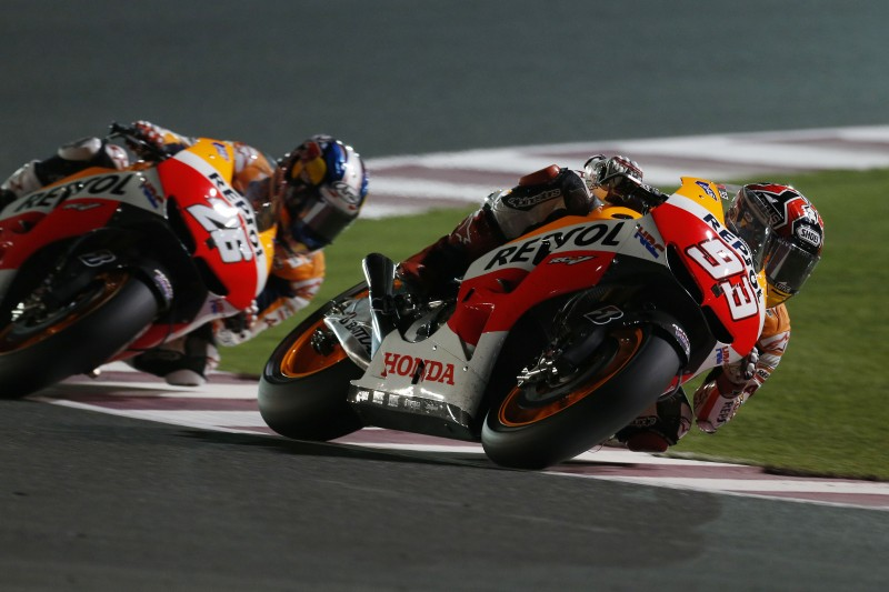 The wait is finally over as Marquez and Pedrosa head to Qatar