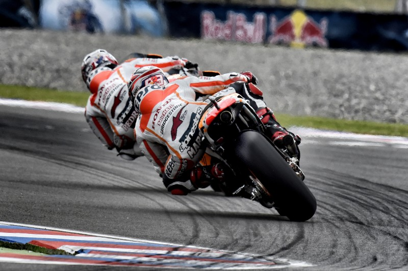 Repsol Honda duo find their rhythm in Argentina to finish 1-2 in FP2