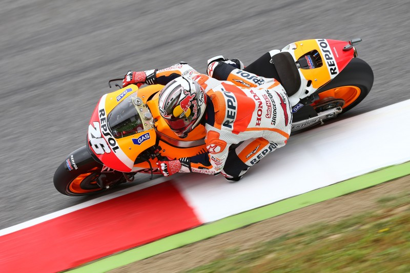 Marquez fastest with temperamental weather in Mugello