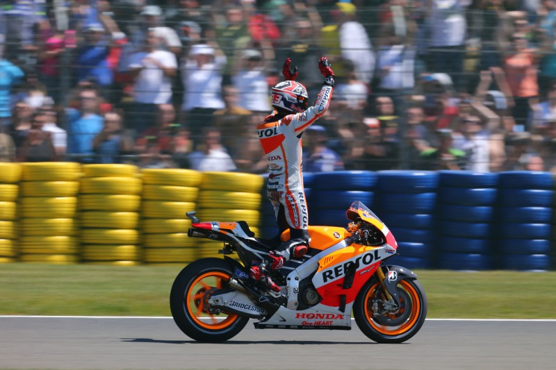 Unstoppable Marquez makes it five-in-a-row with another pefect weekend
