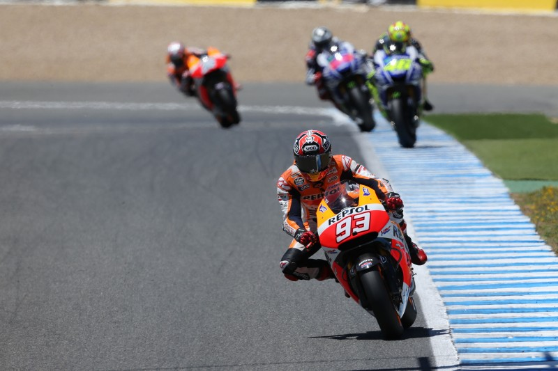 Magnificient Marquez makes it four-in-a-row in Spain on his 100th GP