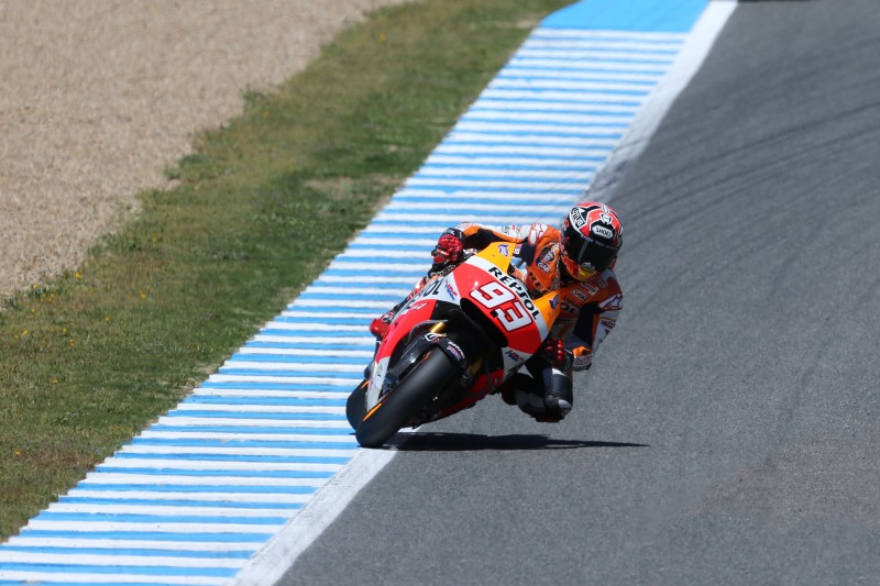 Positive start for Marquez and Pedrosa on day one in Jerez