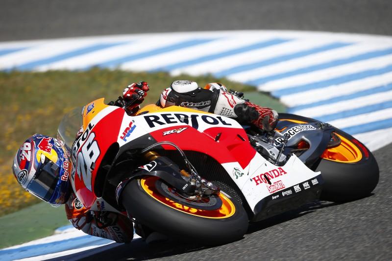 Productive day of testing for Repsol Honda in Jerez