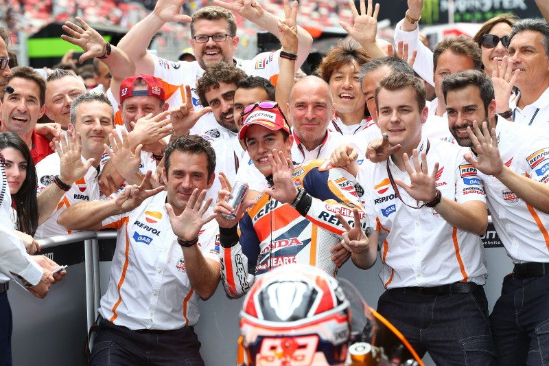 Marquez takes Honda's 100th MotoGP win after thriller in Catalunya