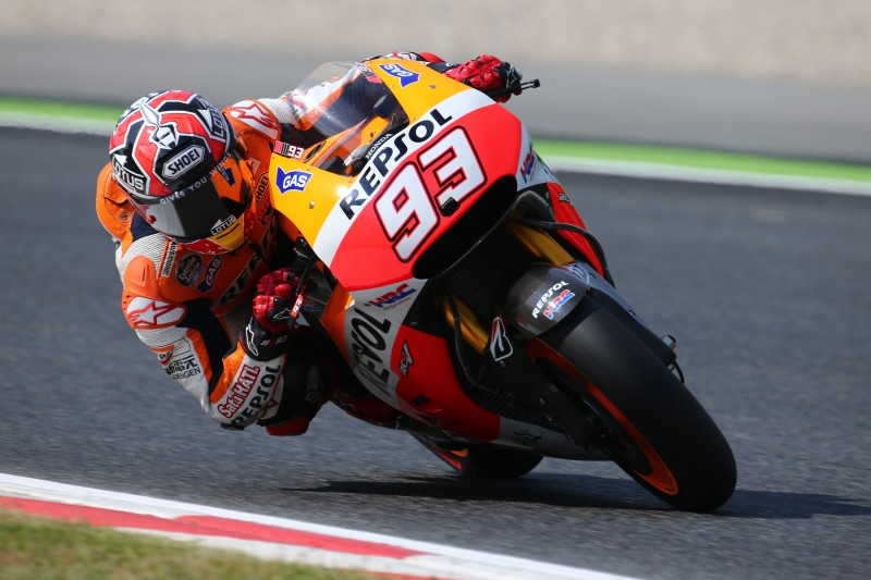 Tricky first day in Catalunya for the Repsol Honda Team