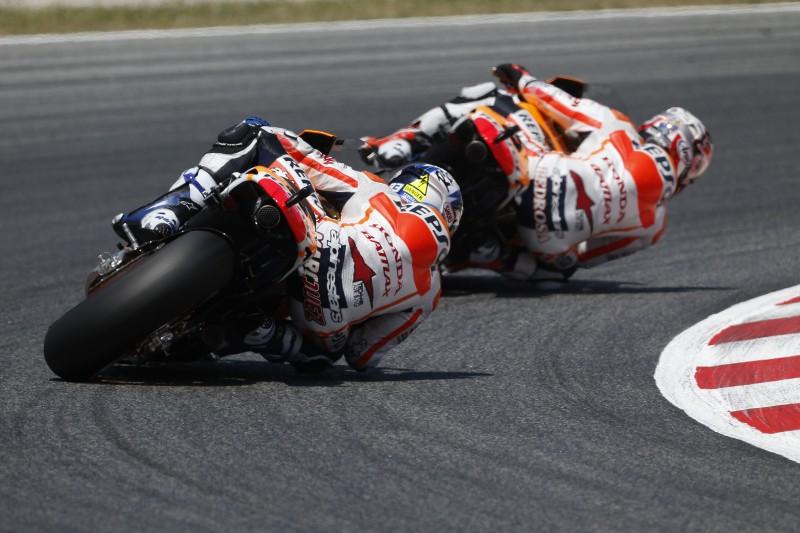 Marquez and Pedrosa head home to Catalunya