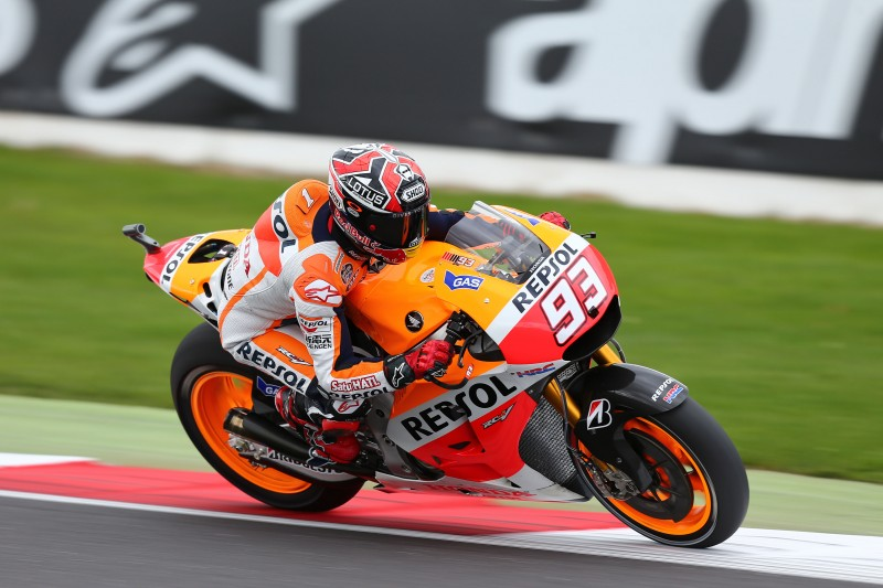 Marquez fastest on day one in Silverstone with Pedrosa 9th