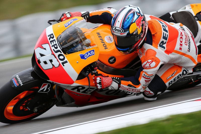 Marquez snatches ninth pole of 2014 with Pedrosa in fifth