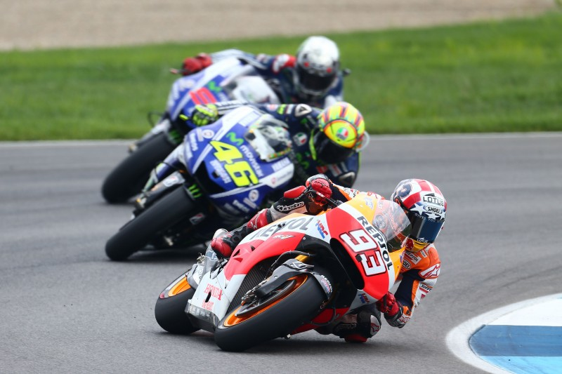 Marquez makes it a perfect ten at the Red Bull Indianapolis GP with Pedrosa 4th