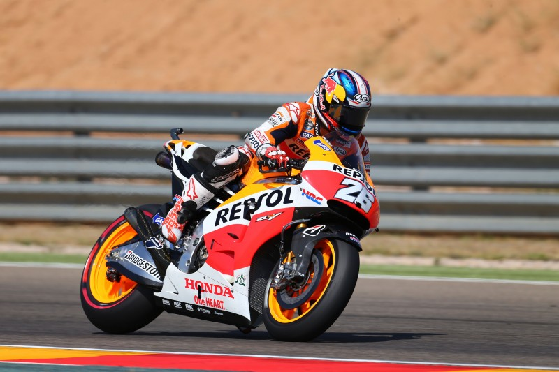 Marquez and Pedrosa off to flying start in Aragón