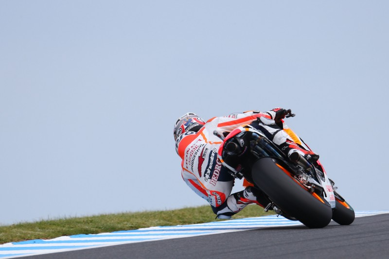 World Champion Marquez takes pole number twelve in Australia with Pedrosa 5th