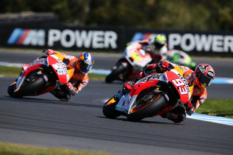 Marquez and Pedrosa back on track down under