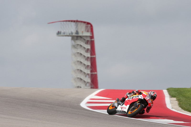 Marquez leads the way in Texas after FP1 with Pedrosa third