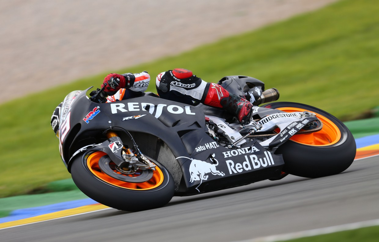 Marquez and Pedrosa finish final test on top - MotoGP