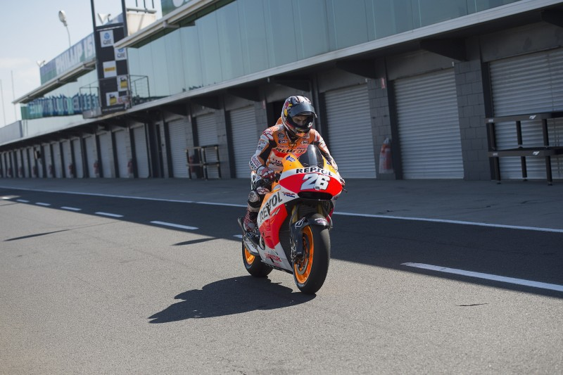 Constructive second day in Phillip Island for Pedrosa