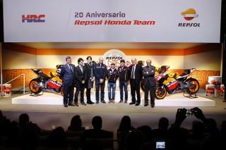 20 aniversario REPSOL-HRC Madrid 10 de febrero de 2014