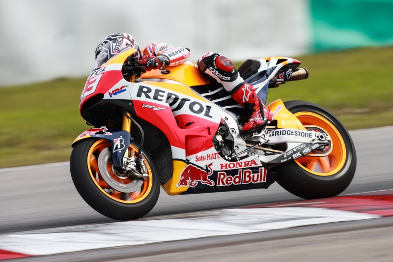 Marquez fastest on day one in Sepang with Pedrosa fifth