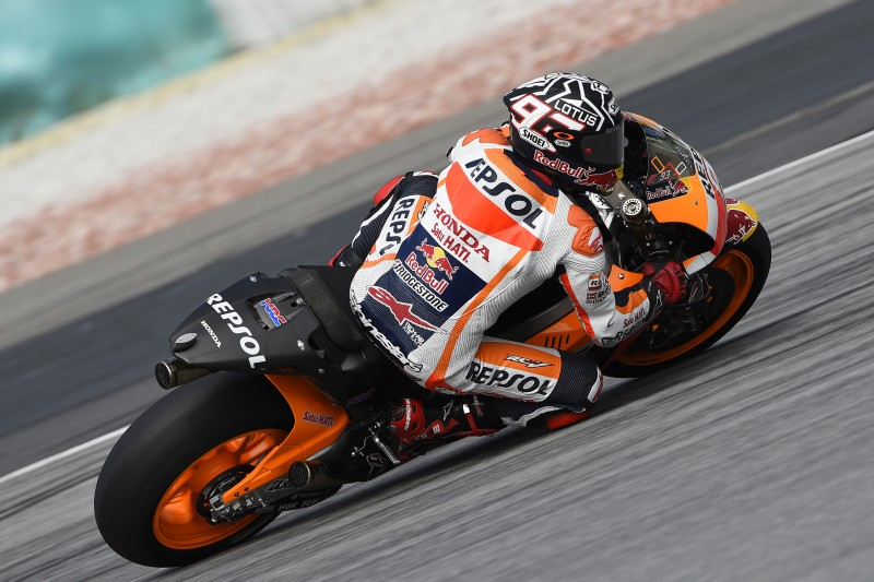 Productive second day in Sepang for Marquez and Pedrosa