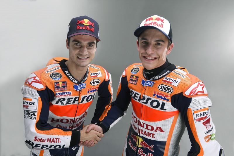 Marquez and Pedrosa Official 2015 photos