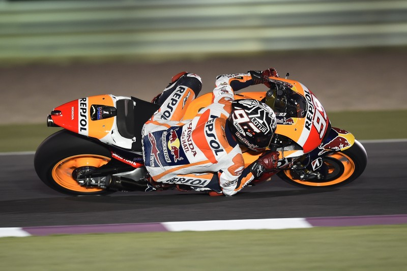 Marquez 2nd and Pedrosa 6th on day two in Qatar