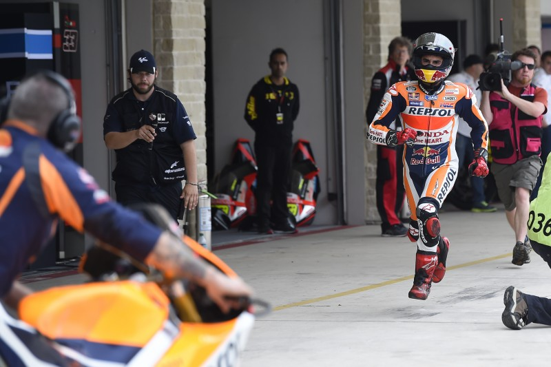 Dramatic Austin qualifying as Marquez takes pole in final moments with record lap