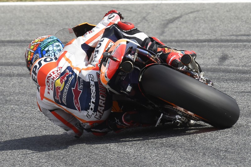 Second row start for Marquez and Pedrosa in Catalunya GP after tight Qualifying session