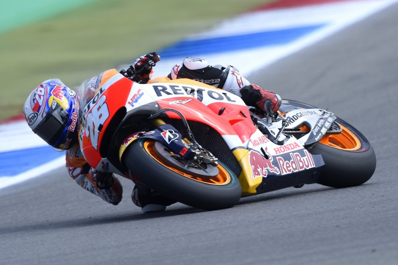 1-2 for Pedrosa and Marquez as both riders lap under circuit record on day one in Assen