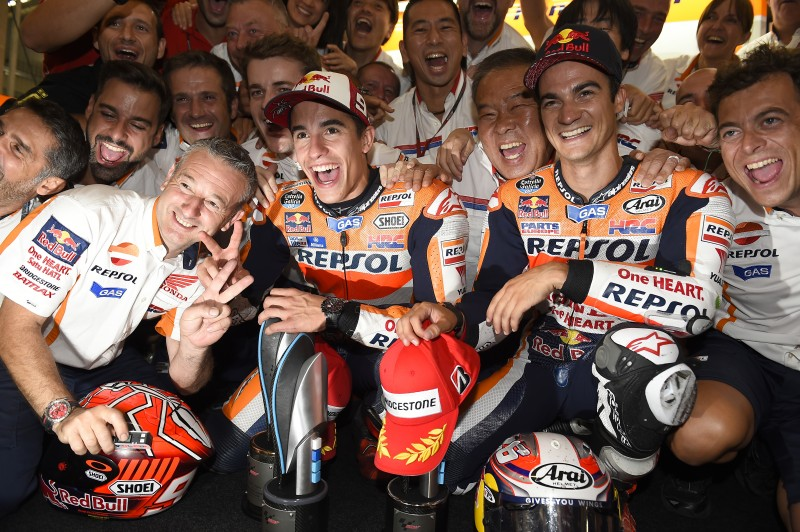 Emphatic 1-2 for Repsol Honda in Germany as Marquez makes it six in-a-row with a perfect weekend