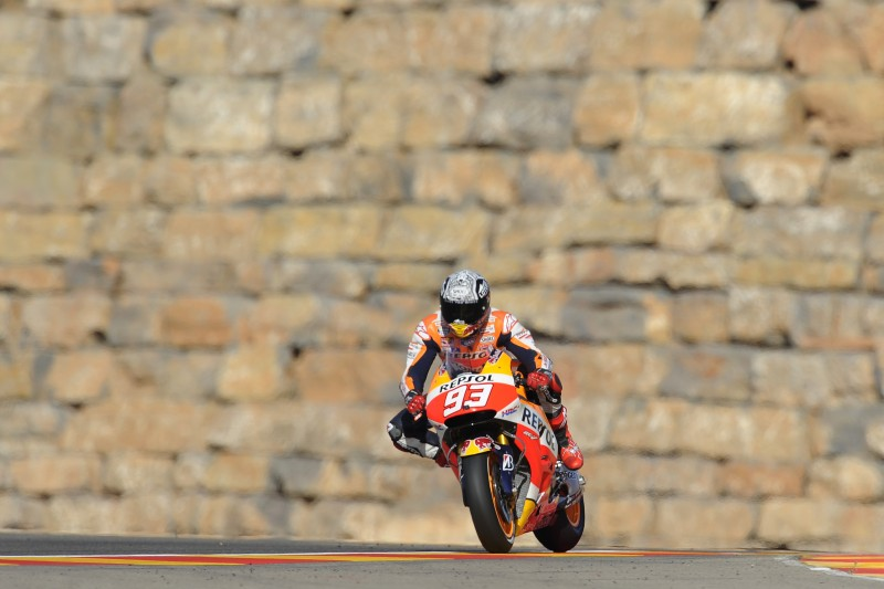 Constructive first day in Aragon for Pedrosa and Marquez