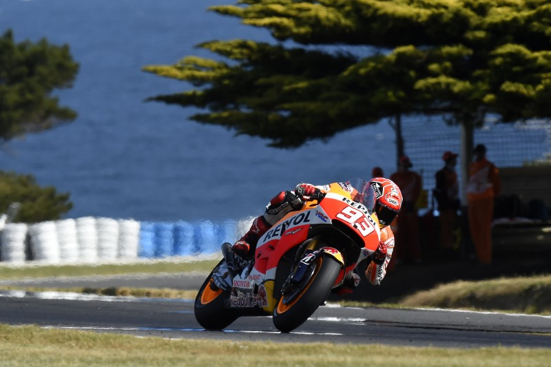Marquez fastest on day one in Australia with Pedrosa 6th