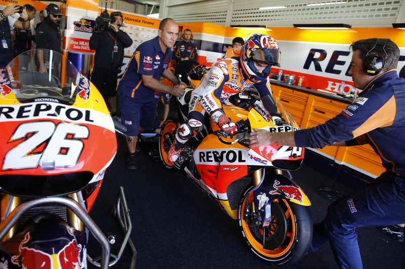 Marquez and Pedrosa commence 2016 season in Valencia