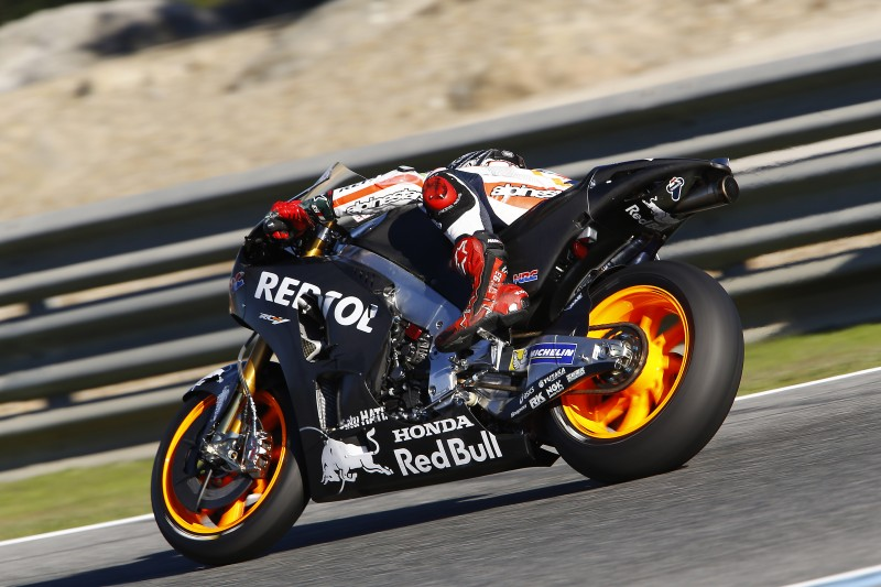Repsol Honda Team commence final test of year