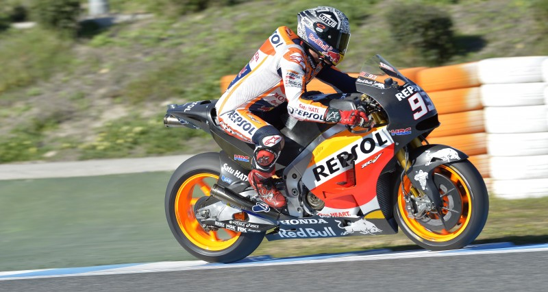 Testing continues in Jerez for Marquez and Pedrosa