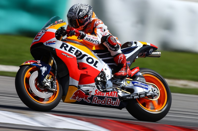Development work continues for Repsol Honda Team on day 2 of Malaysia test