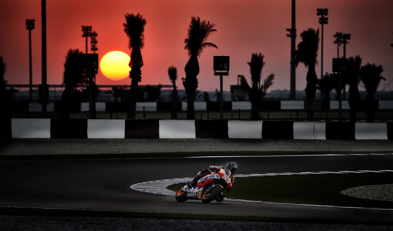 Repsol Honda Team commence final pre-season test in Qatar