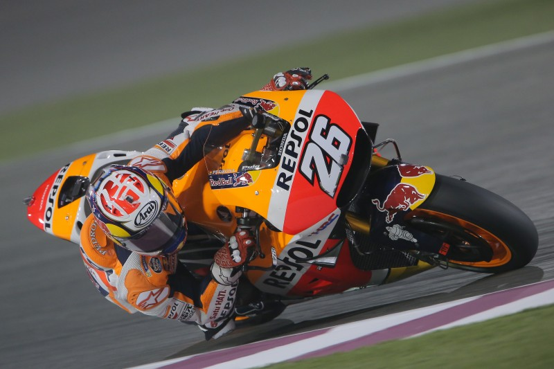 Second day of testing for the Repsol Honda Team in Qatar