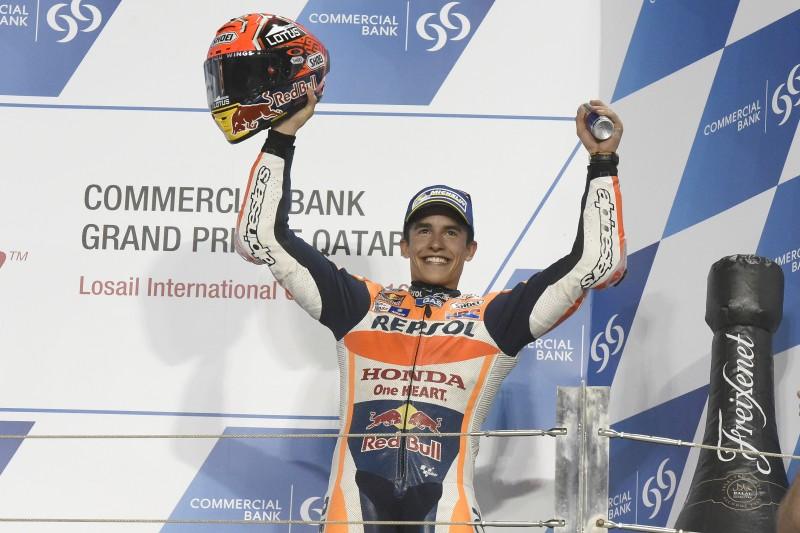 Podium finish for Marquez in Qatar, Pedrosa fifth