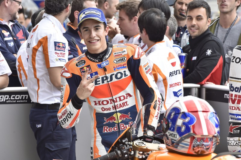 Marquez scores fourth consecutive pole on Texan soil, Pedrosa eighth
