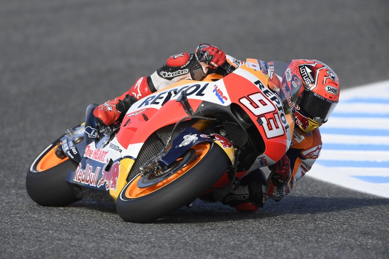 Mixed feelings for Marquez and Pedrosa on day 1 in Jerez