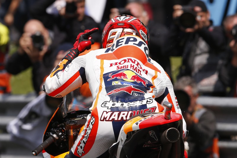 Momentous second place for Marquez in weather-affected Dutch TT