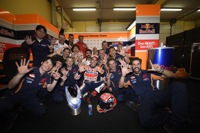 Sensational seventh Sachsenring win for Marquez; Pedrosa fights back to sixth