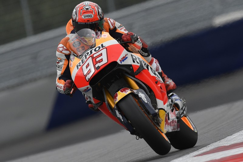 Austrian GP gets underway for Repsol Honda Team at cold Red Bull Ring